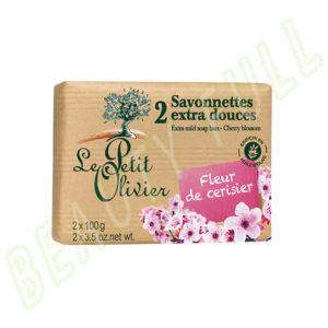 2-Savonnettes-extra-douces-Fleur-de-Cerisier