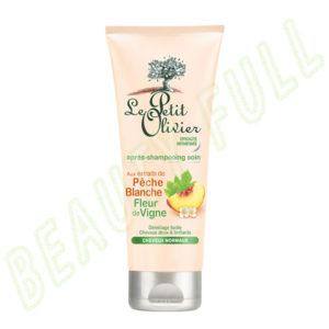 Après-shampooing-soin-aux-extraits-de-Pêche-Blanche-Fleur-de-Vigne---Cheveux-Normaux---200-ml