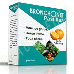 BRONCHONET-Pastilles-Goût-Orange