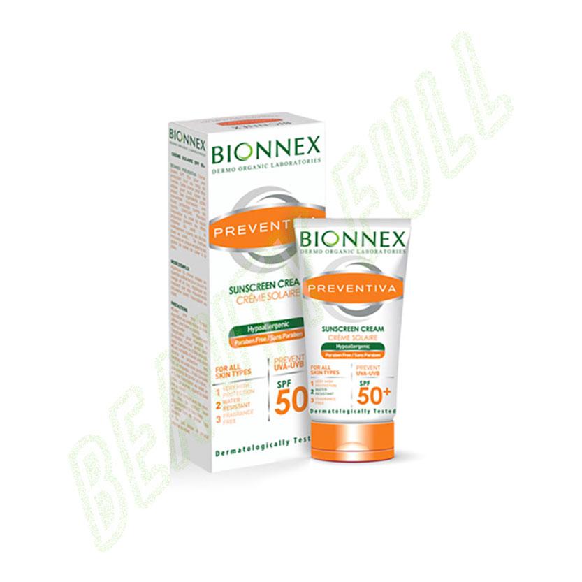 BionnexPreventiaCremeSolaireSpf50+