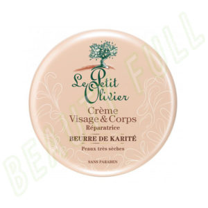 Crème-visage-&-corps-réparatrice-Beurre-de-Karité---Peaux-Très-Sèches---125-ml