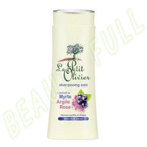 Shampooing-soin-à-l'extrait-de-Myrte-Argile-Rose---Cheveux-Gras---250-ml