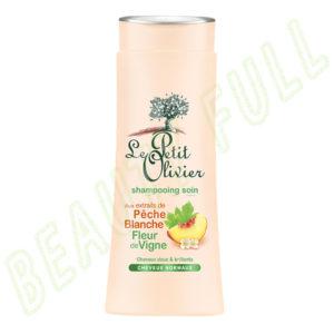 Shampooing-soin-aux-extraits-de-Pêche-Blanche-Fleur-de-Vigne---Cheveux-Normaux---250-ml