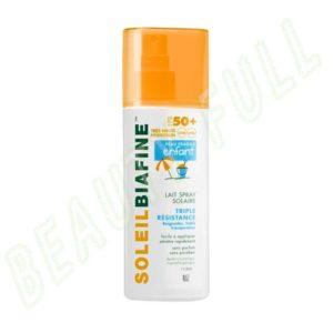 Soleilbiafine-Lait-Spray-Solaire-Enfants-SPF50+-Triple-Résistance-200-ml